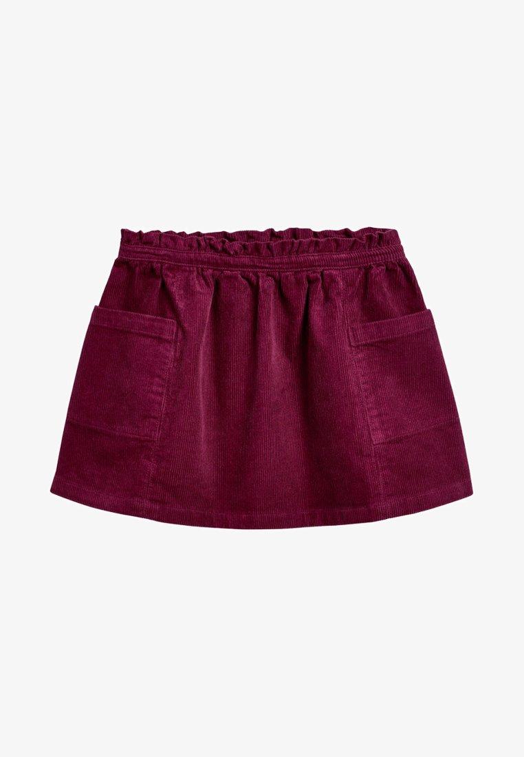Next - Pliceret nederdel /Nederdele med folder - red