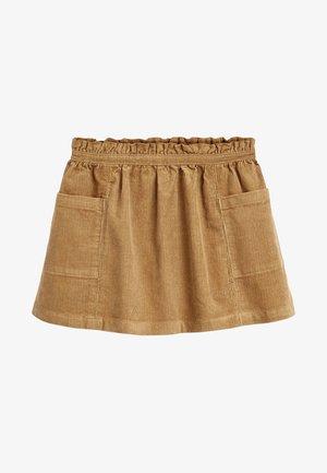 Plooirok - brown