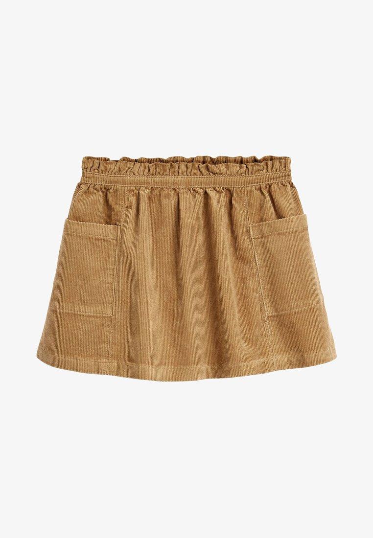 Next - Plooirok - brown
