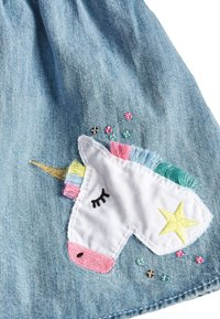 Next - DENIM BLUE UNICORN SEQUIN SKIRT (3MTHS-7YRS) - Jeansrok - blue - 2