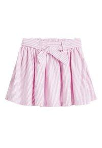Next - PINK BELTED SKIRT (3MTHS-7YRS) - A-snit nederdel/ A-formede nederdele - pink - 0