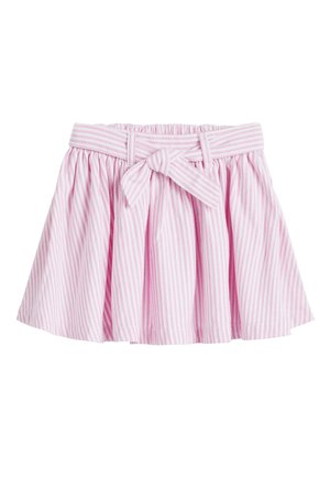 PINK BELTED SKIRT (3MTHS-7YRS) - A-line skirt - pink