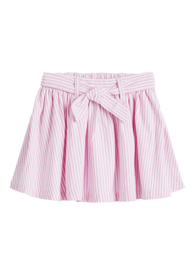 PINK BELTED SKIRT (3MTHS-7YRS) - A-Linien-Rock - pink