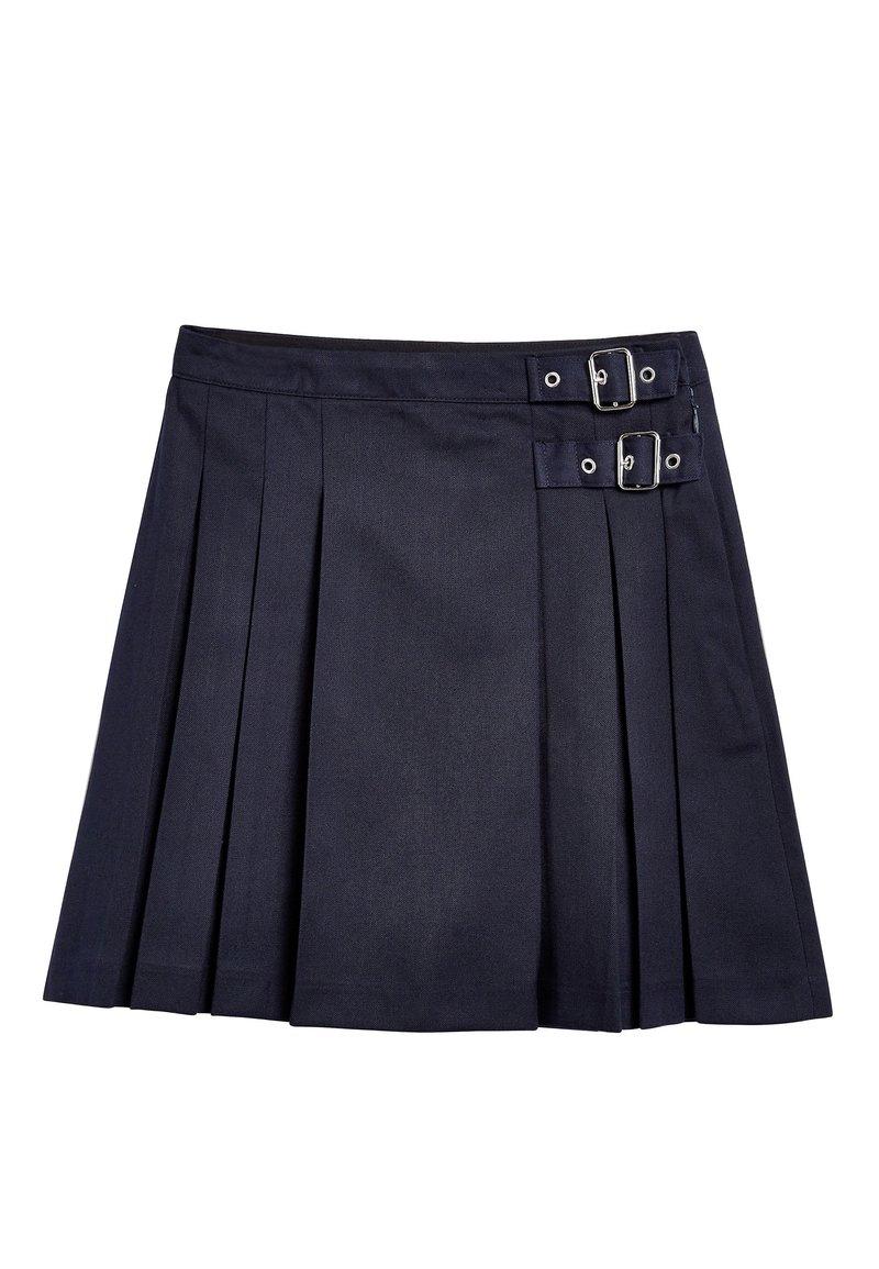 Next - NAVY KILT (3-16YRS) - Áčková sukně - blue