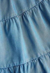 Next - MID BLUE TENCEL® TIERED MAXI SKIRT (3-16YRS) - Maxi skirt - blue - 2