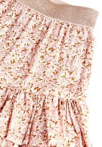 Next - PINK METALLIC WAISTBAND FLORAL SKIRT (3-16YRS) - A-line skirt - pink - 2