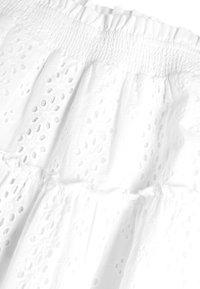 Next - WHITE BRODERIE TIERED MAXI SKIRT (3-16YRS) - Maxi skirt - white - 2
