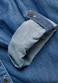 Next - LONGLINE - Button-down blouse - blue - 2
