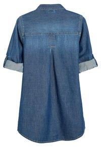 Next - LONGLINE - Button-down blouse - blue - 1