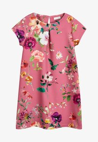 Next - BERRY FLORAL PONTE DRESS (3-16YRS) - Vapaa-ajan mekko - pink - 0