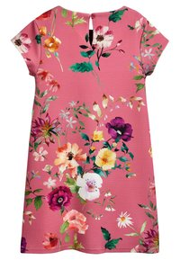 Next - BERRY FLORAL PONTE DRESS (3-16YRS) - Vapaa-ajan mekko - pink - 1