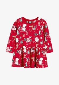 Next - CHRISTMAS  - Korte jurk - red - 0