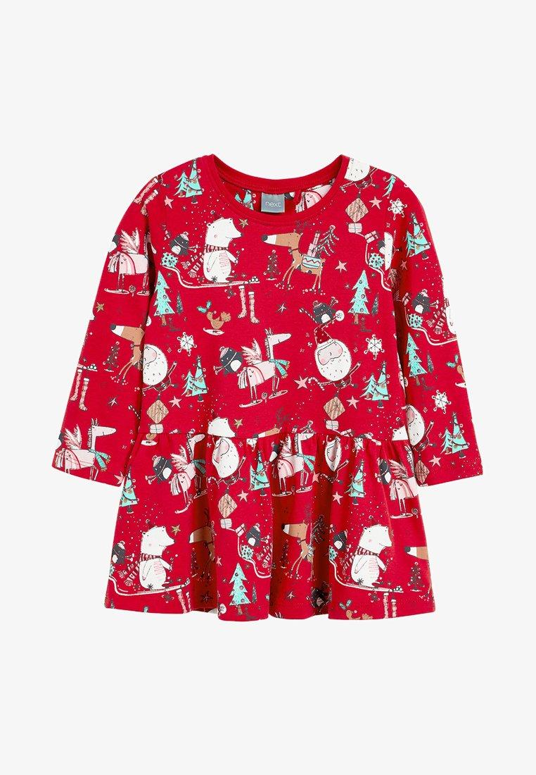 Next - CHRISTMAS  - Korte jurk - red