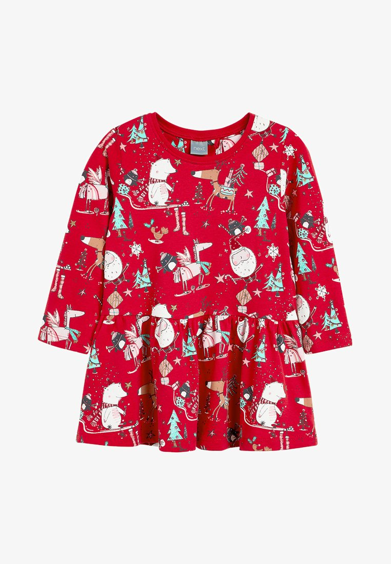 Next - CHRISTMAS  - Day dress - red