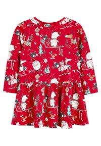 Next - CHRISTMAS  - Korte jurk - red - 1