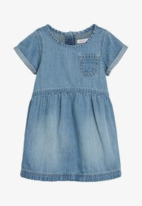 Next - DENIM POCKET DRESS (3MTHS-7YRS) - Denní šaty - blue - 0