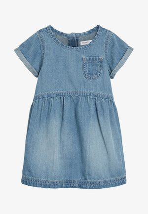 DENIM POCKET DRESS (3MTHS-7YRS) - Korte jurk - blue