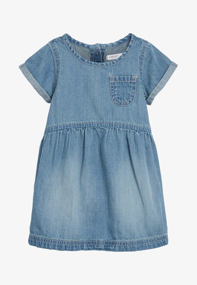 DENIM POCKET DRESS (3MTHS-7YRS) - Vestito estivo - blue