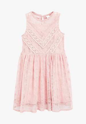 PINK LACE DRESS (3-16YRS) - Korte jurk - pink