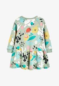 Next - KHAKI SWEAT DRESS (3MTHS-7YRS) - Korte jurk - green - 1