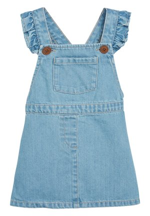 DENIM FRILL PINAFORE (3MTHS-7YRS) - Spijkerjurk - blue