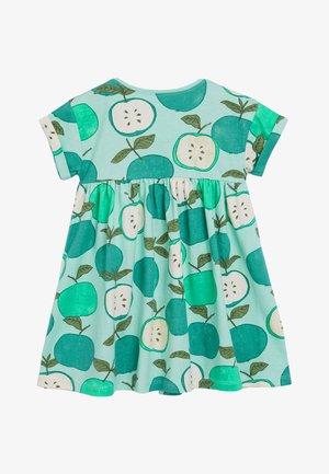 GREEN APPLE PRINTED DRESS (3MTHS-7YRS) - Vapaa-ajan mekko - green