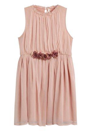 PINK CORSAGE DRESS (3-16YRS) - Denní šaty - pink