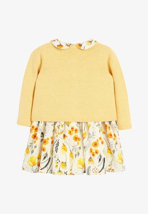 OCHRE PROM DRESS AND CARDIGAN SET (0MTHS-2YRS) - Strikjakke /Cardigans - yellow