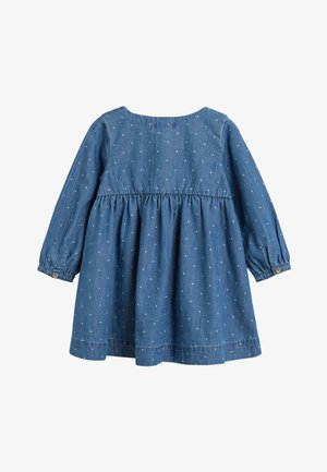 DENIM BUTTON THROUGH DRESS (3MTHS-7YRS) - Spijkerjurk - blue