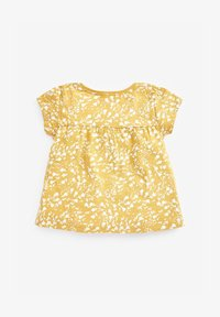 Next - Print T-shirt - yellow - 1