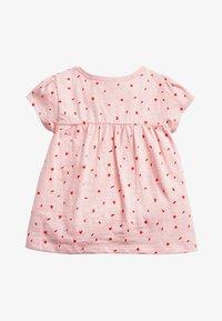 Next - WHITE GOTS CERTIFIED ORGANIC COTTON T-SHIRT (3MTHS-7YRS) - T-shirt print - pink - 1