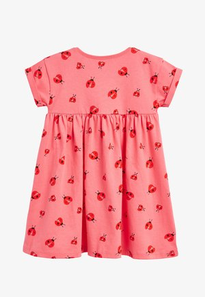 RED/PINK JERSEY DRESS (3MTHS-8YRS) - Jerseyjurk - red