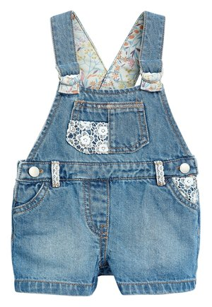 BLUE CROCHET DENIM DUNGAREES (3MTHS-7YRS) - Tuinbroek - blue