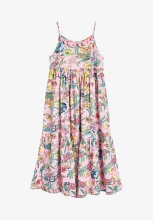 PINK FLORAL DRESS - Day dress - pink