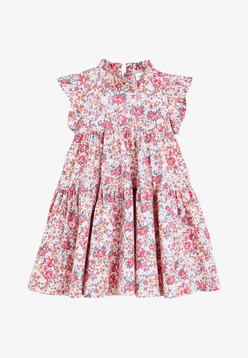 Next - PINK TIERED JERSEY DRESS (3MTHS-7YRS) - Jersey dress - pink