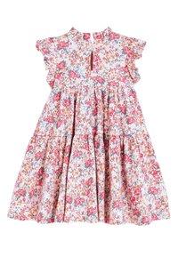 Next - PINK TIERED JERSEY DRESS (3MTHS-7YRS) - Jersey dress - pink - 1