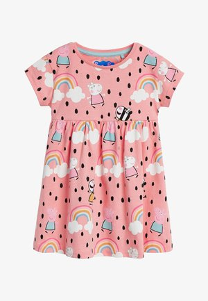 "PEPPA PIGÂ""¢ PRINTED JERSEY DRESS (3MTHS-7YRS) - Day dress - orange"