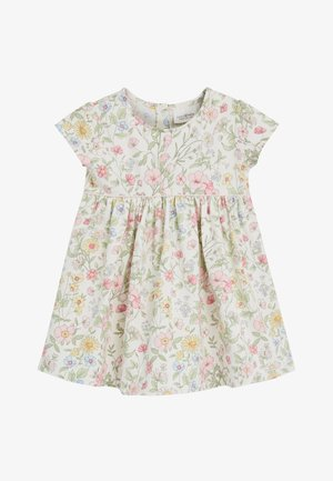 ECRU JERSEY DRESS (0MTHS-2YRS) - Vestido ligero - off-white