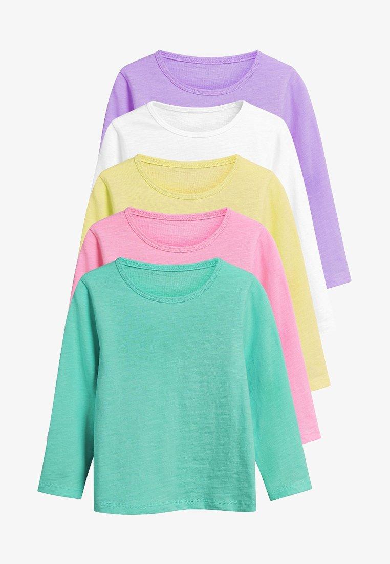 Next - 5 PACK - Langærmede T-shirts - pink