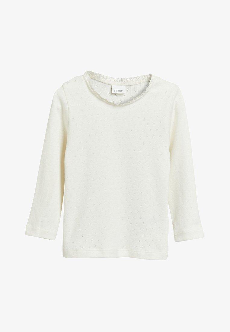 Next - Camiseta de manga larga - white