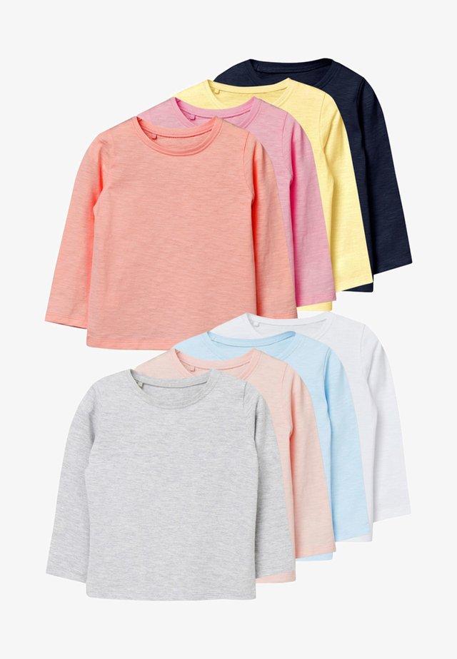 8 PACK - Pitkähihainen paita - white