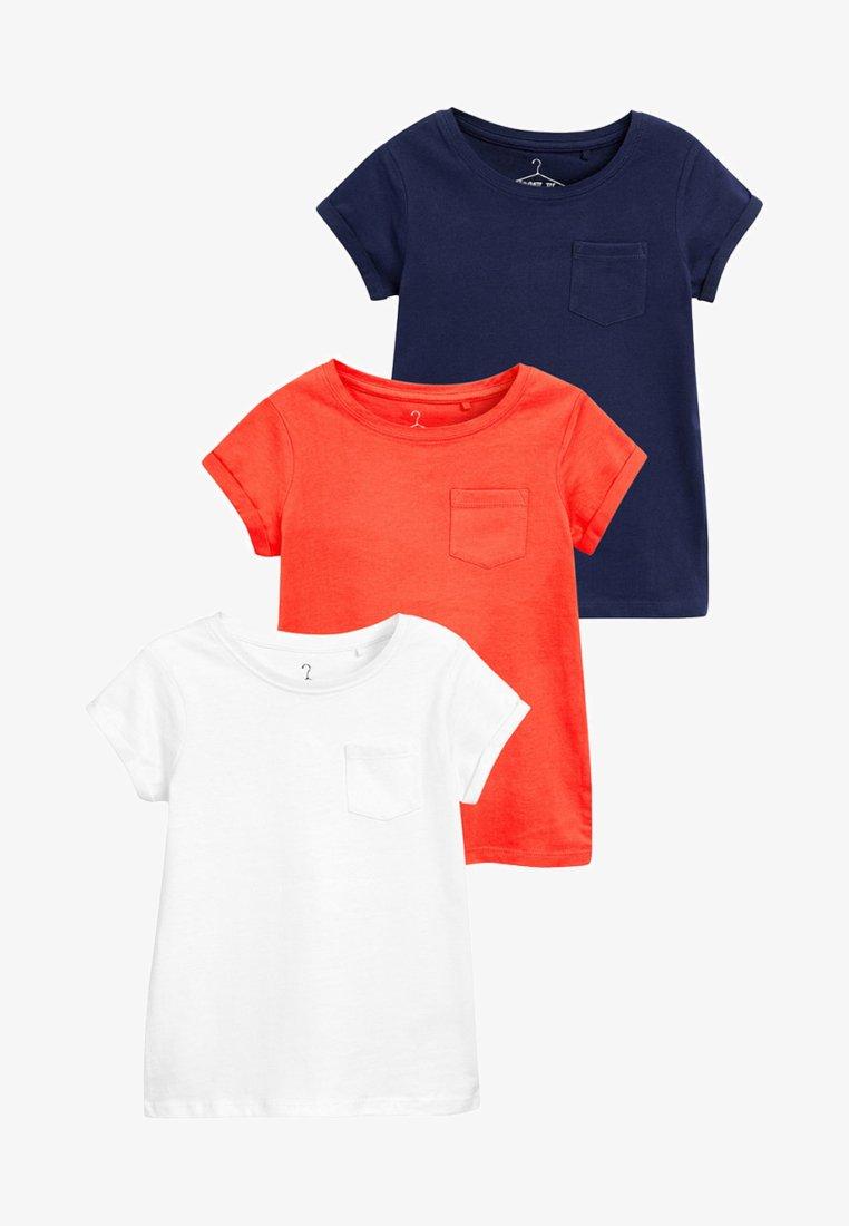 Next - 3 PACK  - T-Shirt basic - white