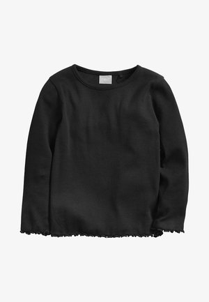 BLUE LONG SLEEVE T-SHIRT (3MTHS-7YRS) - T-shirt à manches longues - black