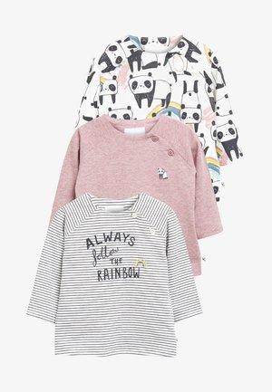 PANDA 3 PACK  - Långärmad tröja - pink