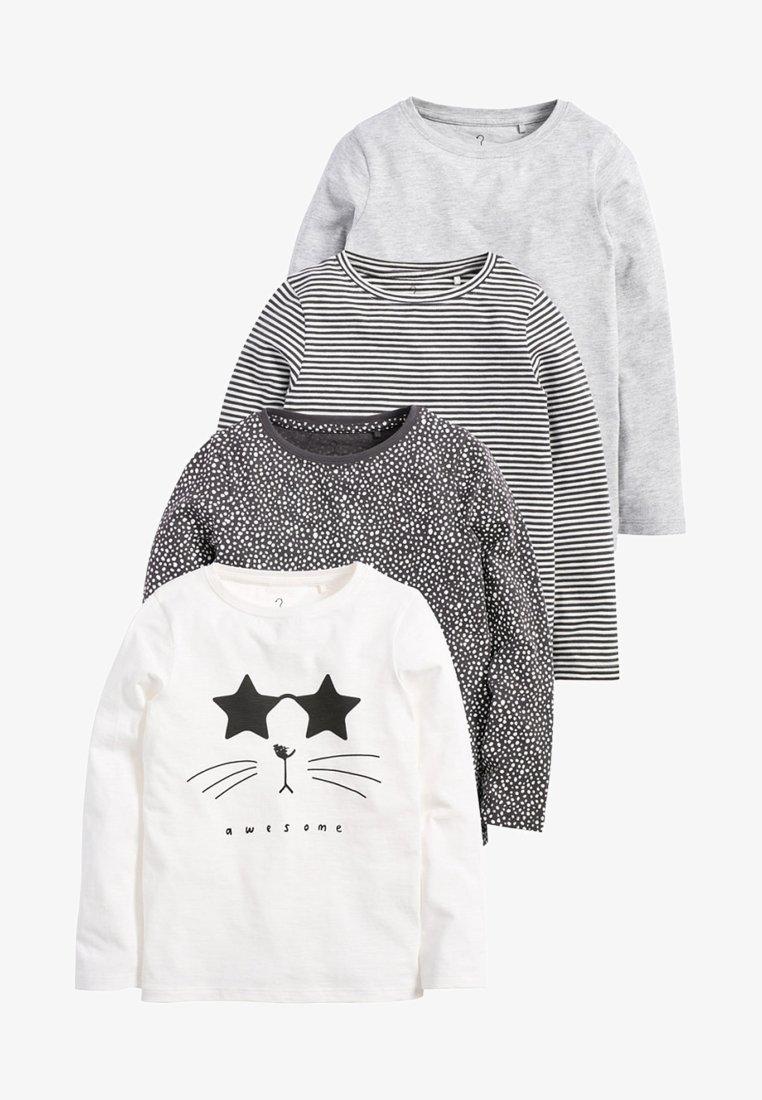 Next - 4 PACK  - Langærmede T-shirts - black