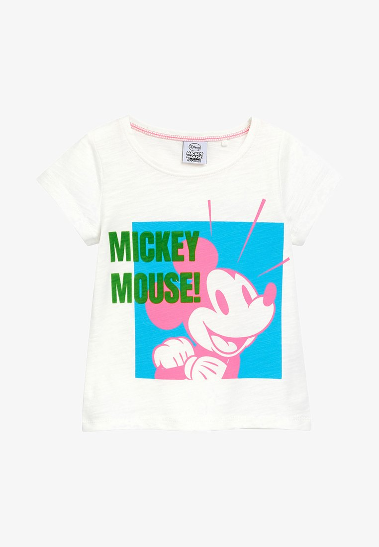 Next - MICKEY MOUSE - T-shirt med print - white
