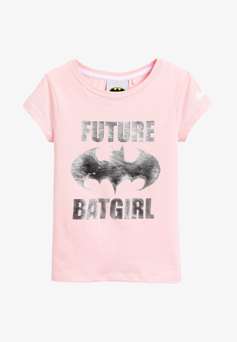 Next - FUTURE BATGIRL - Print T-shirt - pink