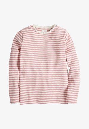 POINTELLE - Långärmad tröja - pink