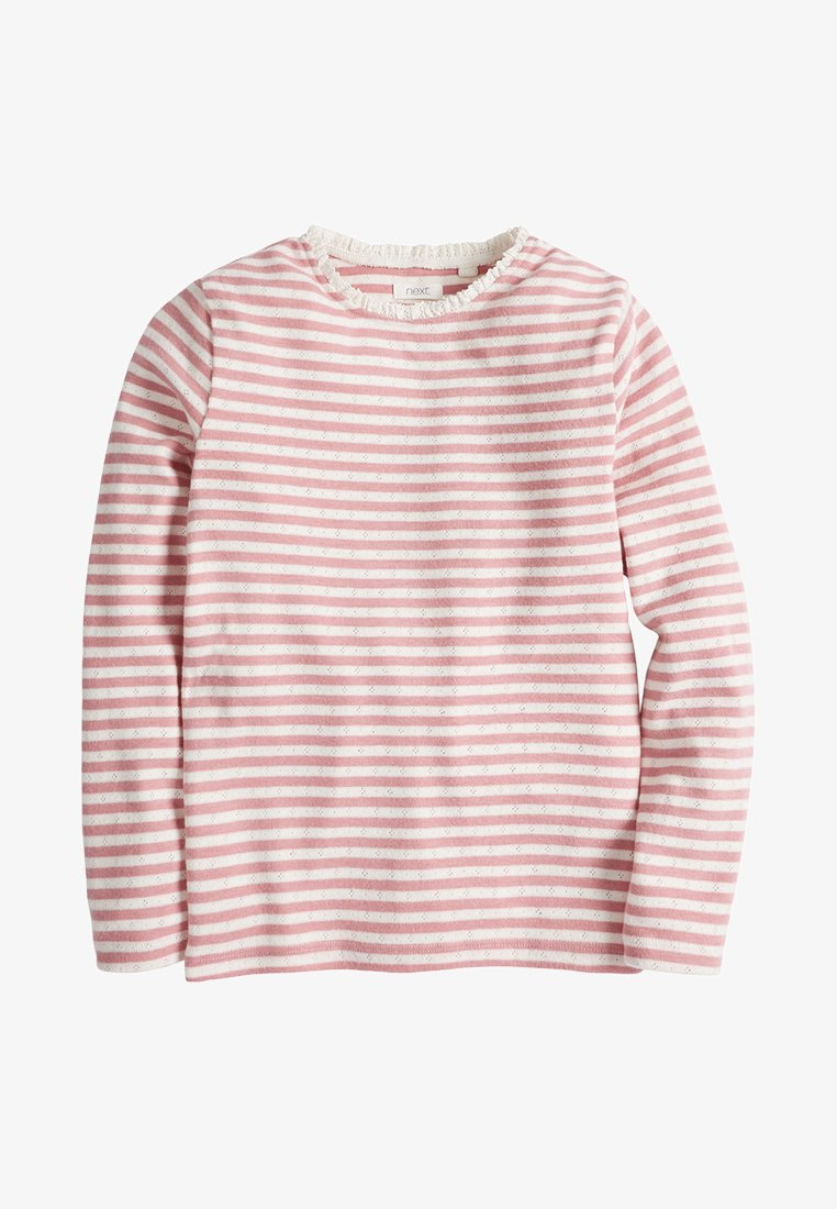 Next - POINTELLE - Long sleeved top - pink