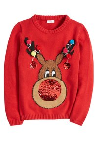 Next - Sweter - red - 3
